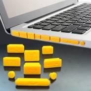 Заглушки для портов ноутбука.