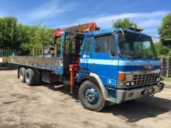 Hino FR. Бортовой грузовик с крановым манипулятором, 17 000 куб. см., 12 000 кг.