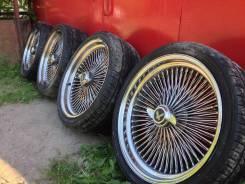 Спицевые диски Wire Wheel. 8.5x20, 5x114.30, 5x120.00, 5x127.00, ET-10, ЦО 80,1мм.
