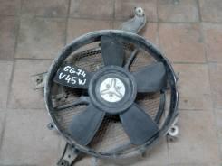 Вентилятор охлаждения радиатора. Mitsubishi Pajero, V45W Двигатель 6G74