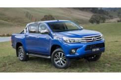 Порог пластиковый. Toyota Hilux Pick Up, GUN125, GUN125L, GUN126L Toyota Hilux Двигатели: 2GDFTV, 1GDFTV