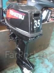 Tohatsu. 35,00л.с., 2х тактный, бензин, нога S (381 мм), Год: 1999 год