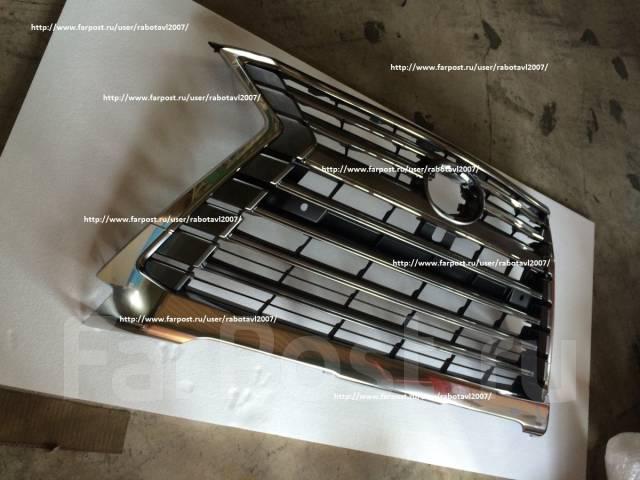 Решетка радиатора. Lexus LX450d Lexus LX570