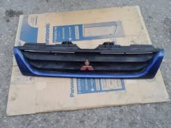 Решетка радиатора. Mitsubishi Pajero Mini, H58A Двигатель 4A30