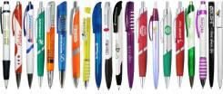 Нанесение логотипа на ручки, флэшки, рулетки и пр.