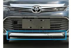 Молдинг на бампер. Toyota Camry, ASV50, ACV51, ASV51, GSV50, AVV50 Двигатели: 6ARFSE, 2ARFXE, 2ARFE, 2GRFE, 1AZFE. Под заказ