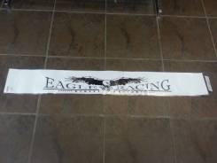 Наклейка на лобовое стекло EAGLE RACLING длина 1.28mm- штрина 17mm