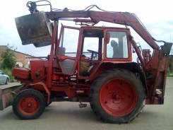 ЮМЗ 6. Продается трактор ЮМЗ-6 с погрузчиком-экскаватором ПЭФ-1Б, 4 940 куб. см., 0,56куб. м.