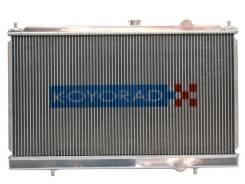 Радиатор охлаждения двигателя. Mitsubishi Lancer Evolution Двигатель 4G63T