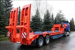 Техомs. Высокорамный полуприцеп г/п 26 тонн односкатный, 28 000 кг.