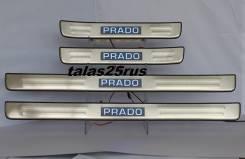 Порог пластиковый. Toyota Land Cruiser Prado, TRJ125, RZJ120, LJ125, KDJ125, GRJ120, TRJ120W, KDJ121, RZJ125, VZJ120, RZJ120W, KDJ120W, LJ120, KDJ121W...
