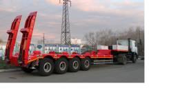 Техомs. Высокорамный полуприцеп 50 тонн 4-х осный вездеход, 50 000 кг.