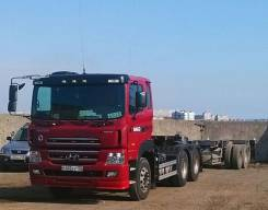 Hyundai Trago. Седельный тягач 6x4, 12 344 куб. см., 44 000 кг.