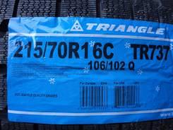 Triangle Group TR737. Зимние, без шипов, 2016 год, без износа, 4 шт