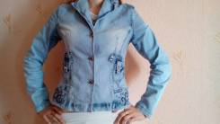 Куртки джинсовые. 46, 48, 50
