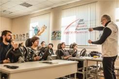 """Начальная контраварийная подготовка для водителей. Двцввм """"ЛИГА-М"""" ."""