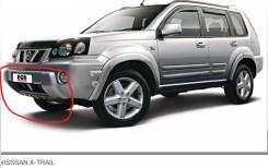 Накладка на бампер. Nissan X-Trail, T30 Двигатели: YD22ETI, QR20DE, QR25DE