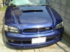 Решетка радиатора. Subaru Legacy, BHC, BES, BHE, BH5, BEE, BE5, BH9, BE9