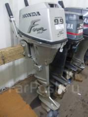 Honda. 9,90л.с., 4х тактный, бензин, нога L (508 мм), Год: 2001 год
