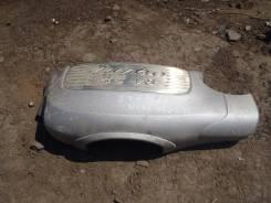 Защита двигателя пластиковая. Porsche Cayenne