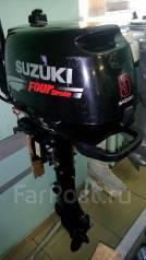 Suzuki. 5,00л.с., 4х тактный, бензин, нога S (381 мм), Год: 2010 год