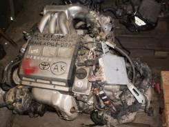 Двигатель в сборе. Toyota Mark II Wagon Qualis, MCV21 Двигатель 2MZFE