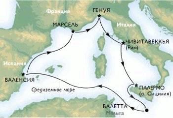 """Италия. Генуя. Экскурсионный тур. Круиз """"Западное Средиземноморье"""""""