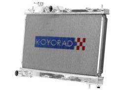 Радиатор охлаждения двигателя. Subaru Legacy, BL5 Subaru Outback Двигатель EJ25