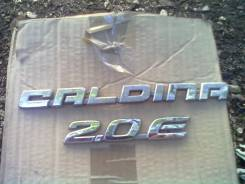 Эмблема багажника. Toyota Caldina