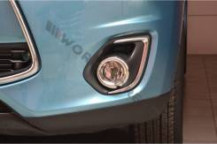 Накладка на фару. Mitsubishi ASX