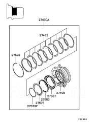 Вариатор. Mitsubishi: Lancer Cedia, Colt Plus, Lancer, Dion, Colt Двигатели: 4G15, 4G93, 4G18, 4G94