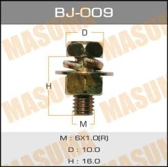 "Болт с гайкой BJ009 ""MASUMA"" М 6х16х1,0 уп.6шт."