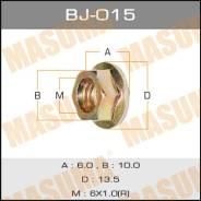 "Гайка BJ015 ""MASUMA"" М 6х16 уп.16шт."