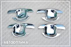 Накладка на ручки дверей. Toyota Camry, ACV30