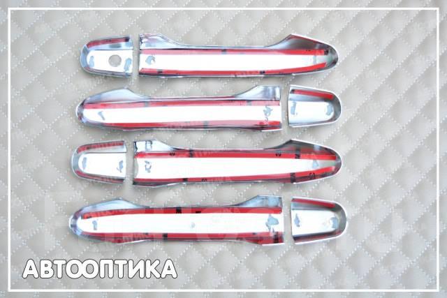 Накладка на ручки дверей. Honda CR-V, RE5, RM1, RM4 Двигатели: K24A, R20A, R20A9