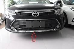 Накладка на бампер. Toyota Camry