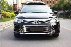 Молдинг решетки радиатора. Toyota Camry
