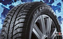 Bridgestone Ice Cruiser 7000. Зимние, шипованные, 2016 год, без износа, 4 шт. Под заказ