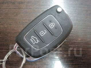 Ключ зажигания, смарт-ключ. Hyundai Solaris