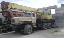Урал. Продается автокран в Новосибирск, 11 000 куб. см., 16 000 кг., 18 м.