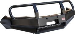 Бампер РИФ передний Toyota Hilux 2012-2014 без доп. фар с кенгурином на рестайлинг RIFVIG-10300