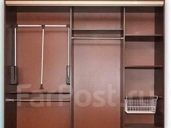 Встроенный шкаф-купе в прихожую и спальню. внутреннее наполн.