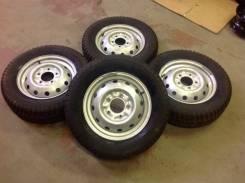 Кама515 215/65 р16 + штамповка р16 на ниву, колёса новые собранны. 5.5x16 5x139.70 ET40 ЦО 98,6мм.