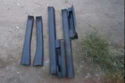 Порог пластиковый. Toyota Ractis, NCP100, SCP100, NCP105