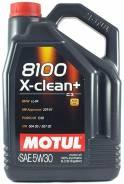 Motul 8100 X-clean + 5W-30 5L (бензин/дизель). Вязкость 5W-30, синтетическое