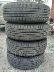 Комплект летних колёс на штампованных дисках 175/65 R14. 6.0x14 4x100.00 ЦО 54,1мм.