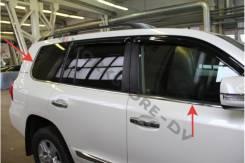 Молдинг стекла. Toyota Land Cruiser, UZJ200W, VDJ200, J200, URJ202W, GRJ200, URJ200, URJ202, UZJ200. Под заказ