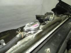 Радиатор охлаждения двигателя. Toyota Caldina, ST210