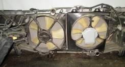 Вентилятор охлаждения радиатора. Toyota Caldina, ST210