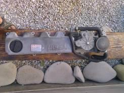 Крышка головки блока цилиндров. Nissan Safari, WYY61 Двигатели: RD28T, RD28ETI